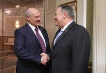 Лукашенко и Помпео