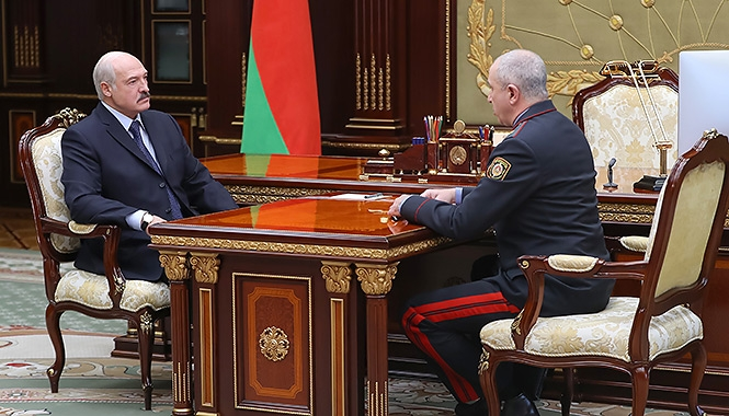 Лукашенко и Караев
