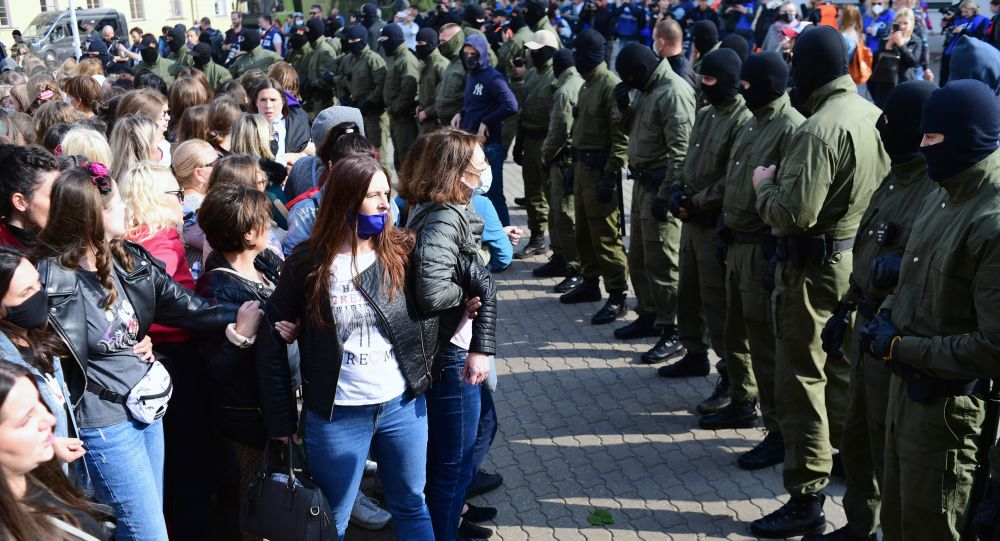 Акция Женский марш