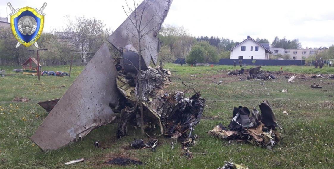 Падение самолета