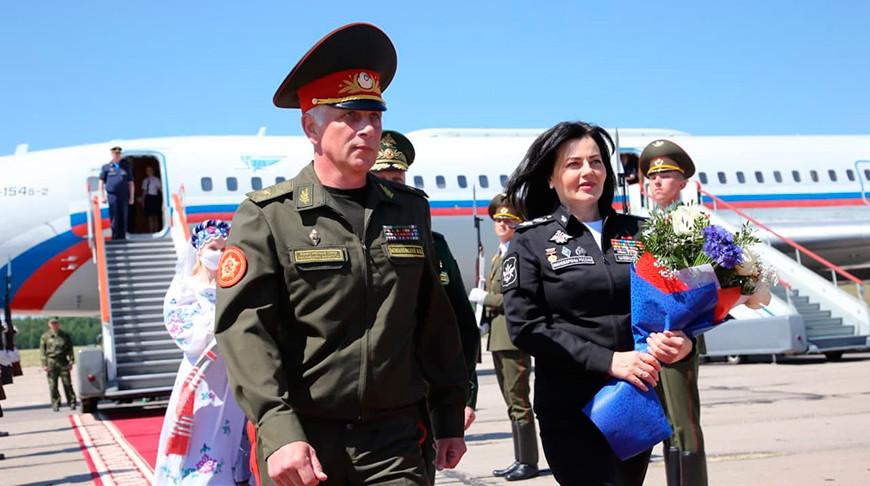 Делегация Минобороны России